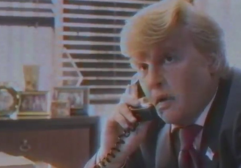 Here's Johnny Depp playing @realDonaldTrump in a 50-minute spoof from Funny or Die.