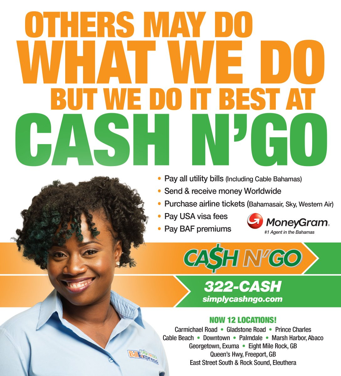 Cash And Go >> Cash N Go Cashngobahamas Twitter