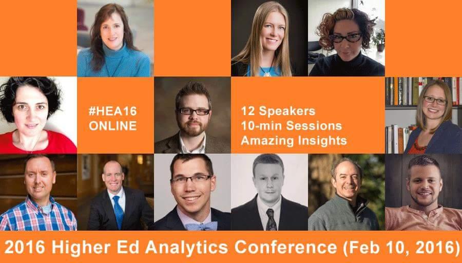 Looking forward to talking analytics today :) #HEA16 https://t.co/UGRjdcqwwu