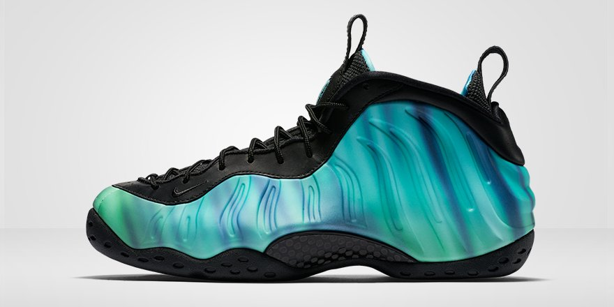 9891331c95e ... air foamposite one olive 8 1c0c9 e8f4d greece foot locker eu on twitter  the nike foamposite northern lights drops this friday 9am cet ...