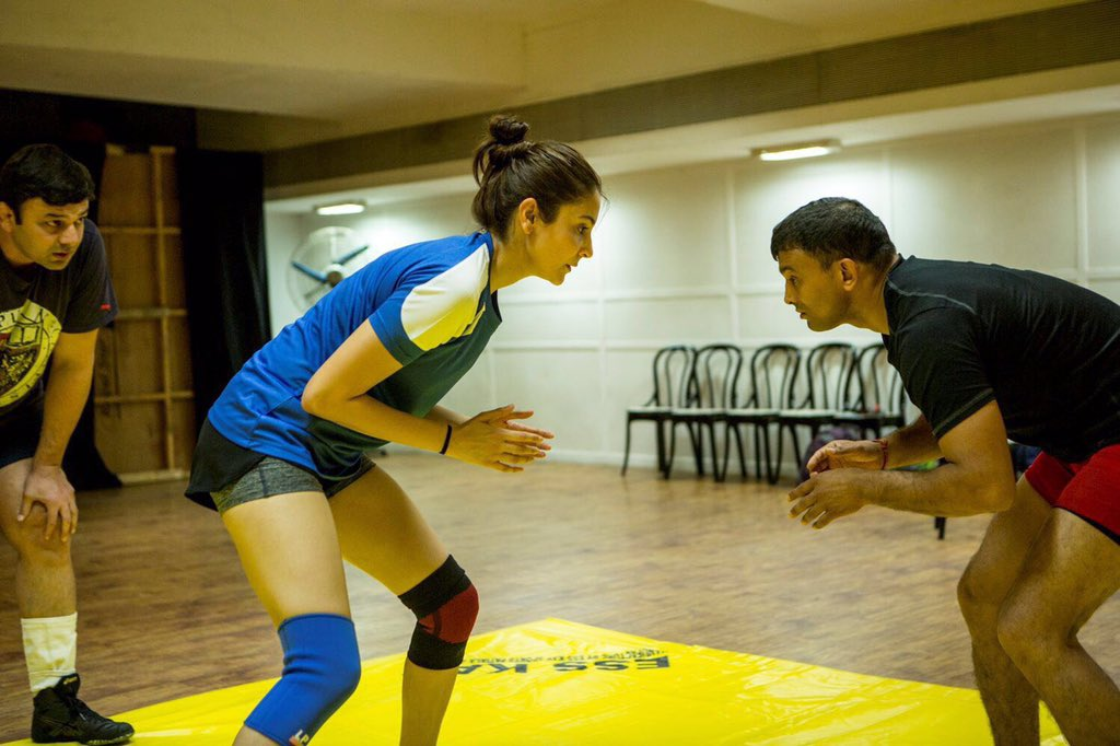Anushka Sharma's First Look from Sultan