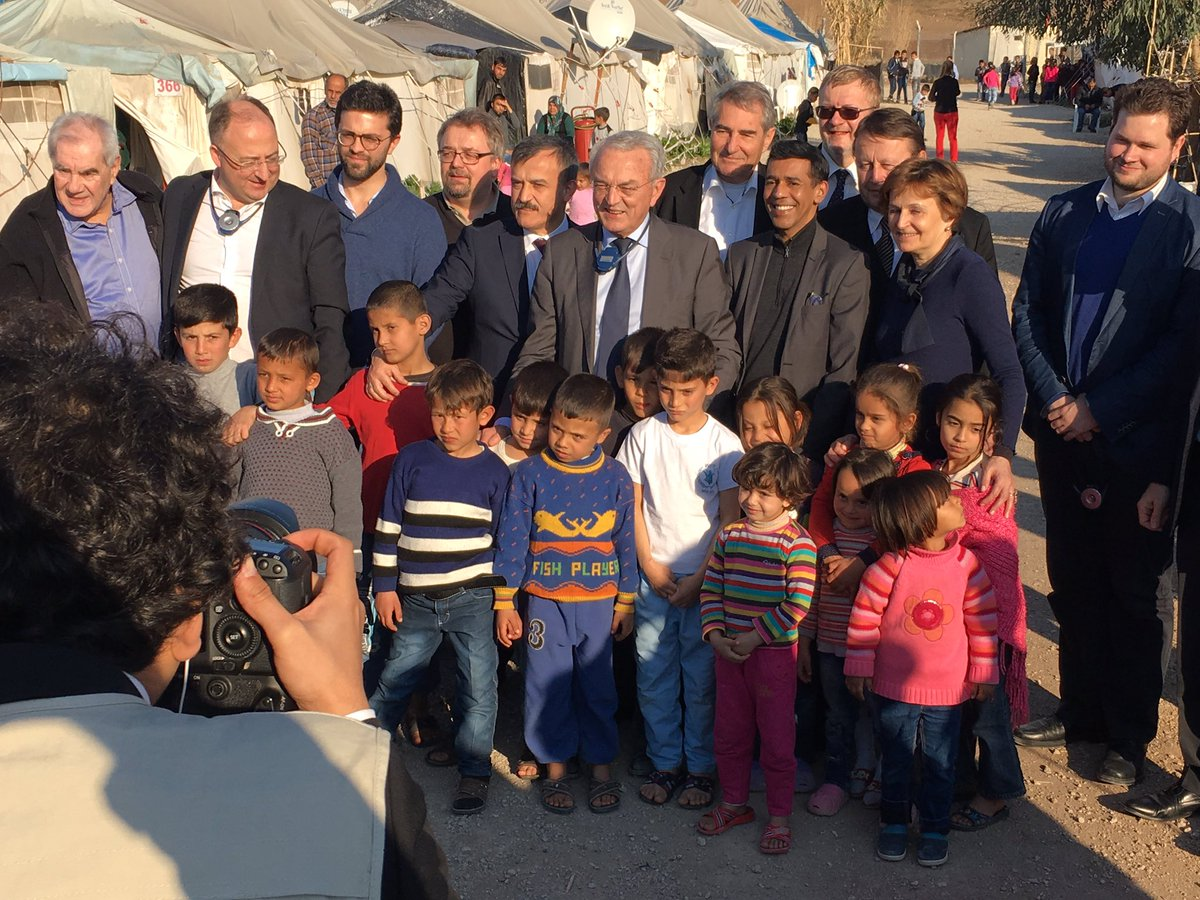 #BUDG delegation to #Turkey concludes with visit to Osmaniye #refugee camp #RefugeeCrisis https://t.co/XkVy24cxuv