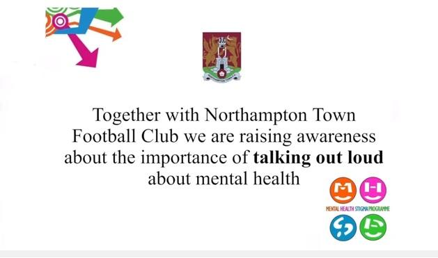 Northampton Town FC support mental health awareness day 12 February @ntfc #stampoutstigma https://t.co/XOf2OYDYI5 https://t.co/6l1MYQBUls