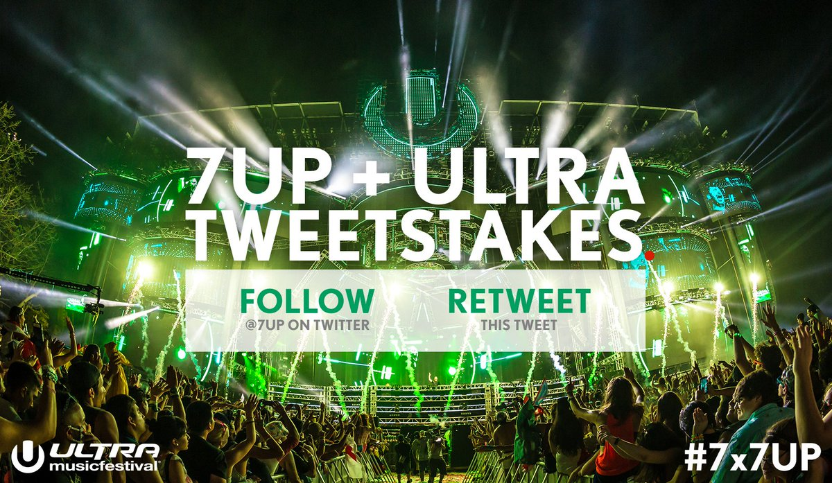 Wednesday is for winning! RT for your chance to be in the crowd at SOLD OUT @Ultra! #Ultra2016 #Sweepstakes #7x7UP https://t.co/3oQqDE2Wfz