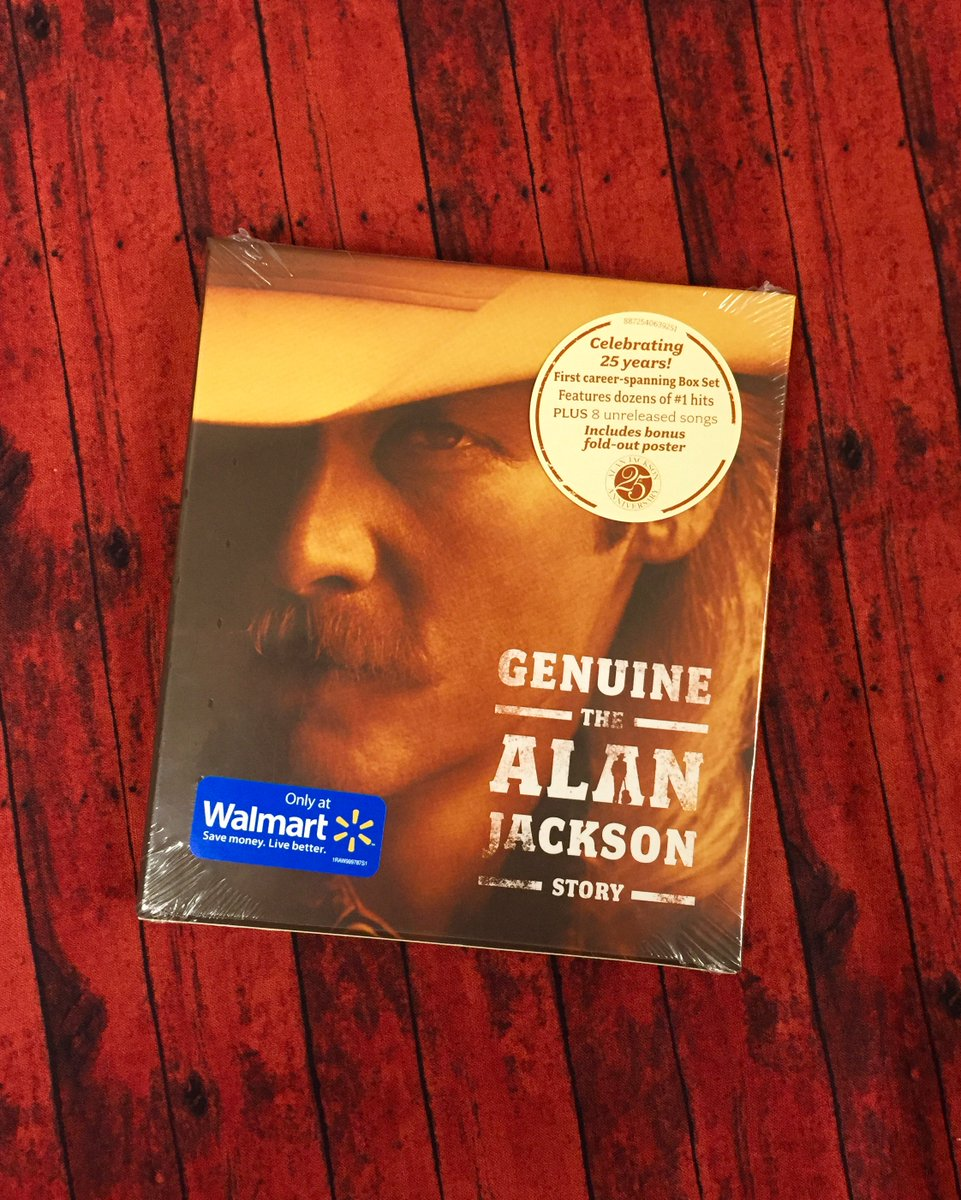 "It's a #WinningWednesday! RT to enter to win a copy of ""Genuine - The Alan Jackson Story"" box set! https://t.co/15UWeB0EO1"