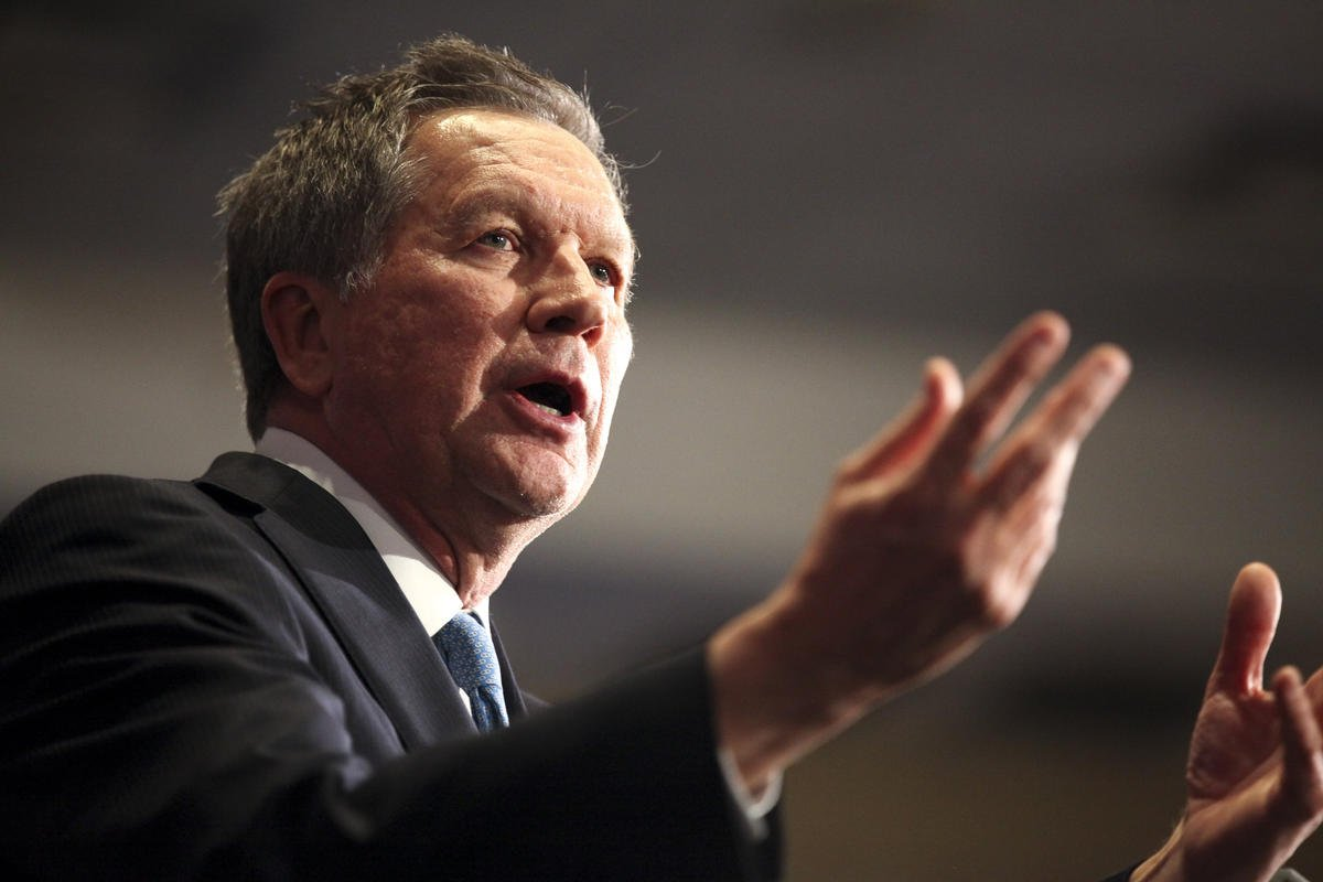 @JohnKasich 's showing scrambles the GOP field