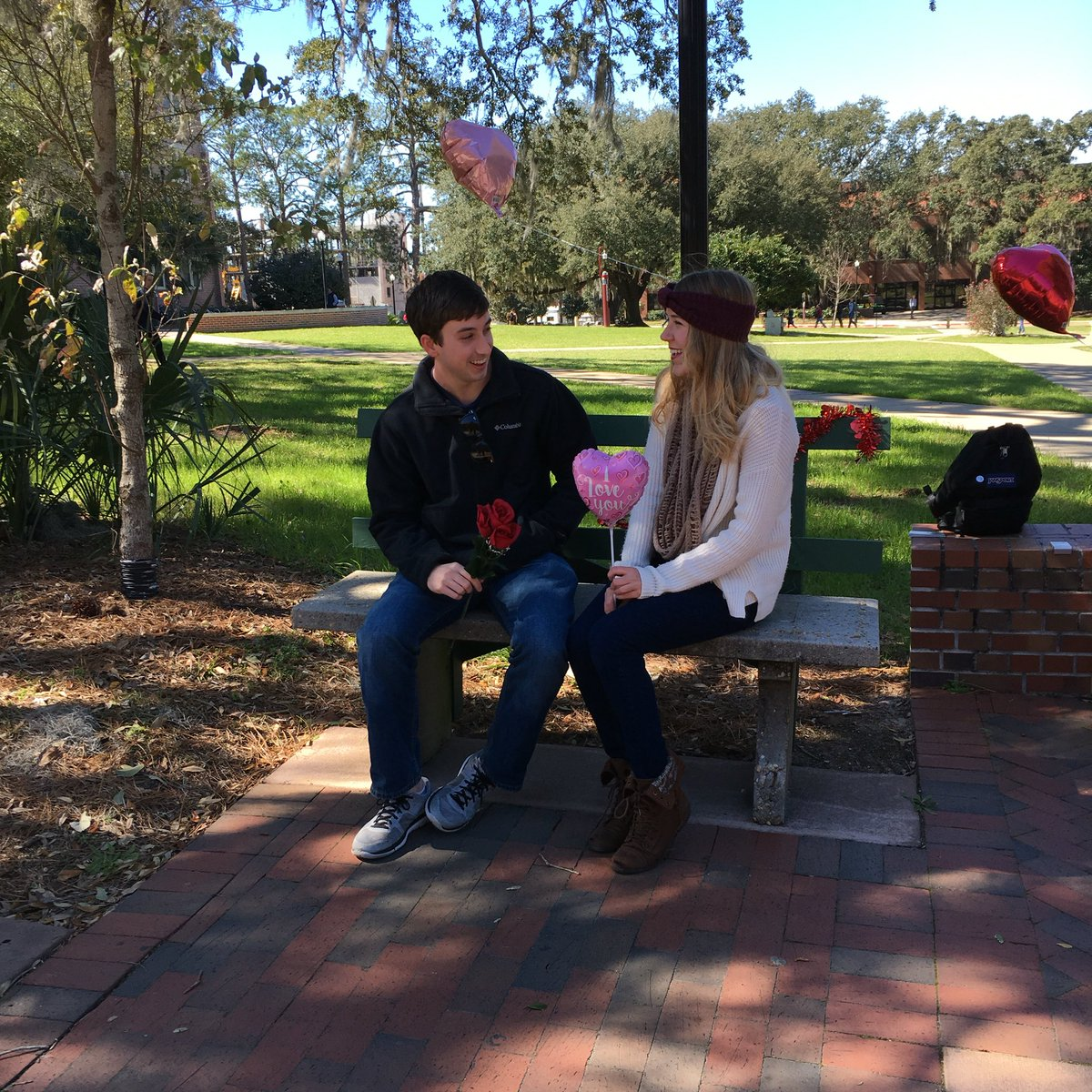 florida state university on twitter come to the kissing bench and
