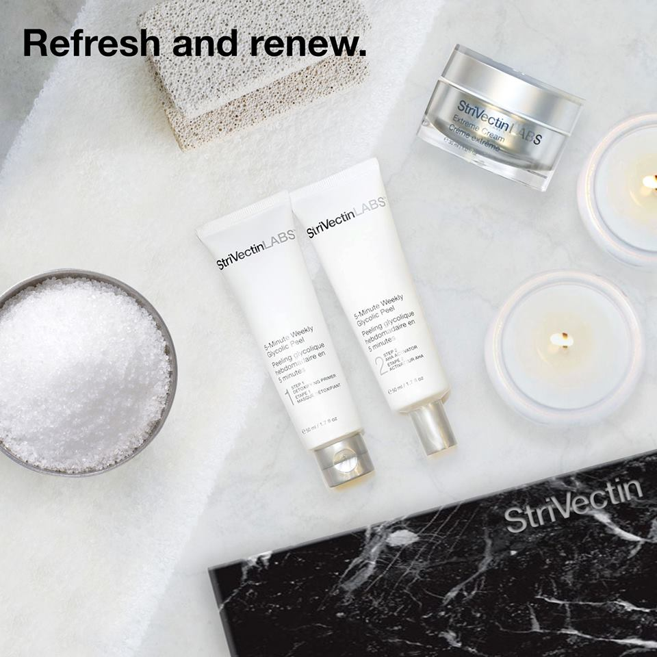 """Potent without the Procedure!"" #StrivectinLabs #20x @Shoppers #refresh #renew #GlycolicPeel #ExtremeCream #GLOWpic.twitter.com/3KEajZnx77"