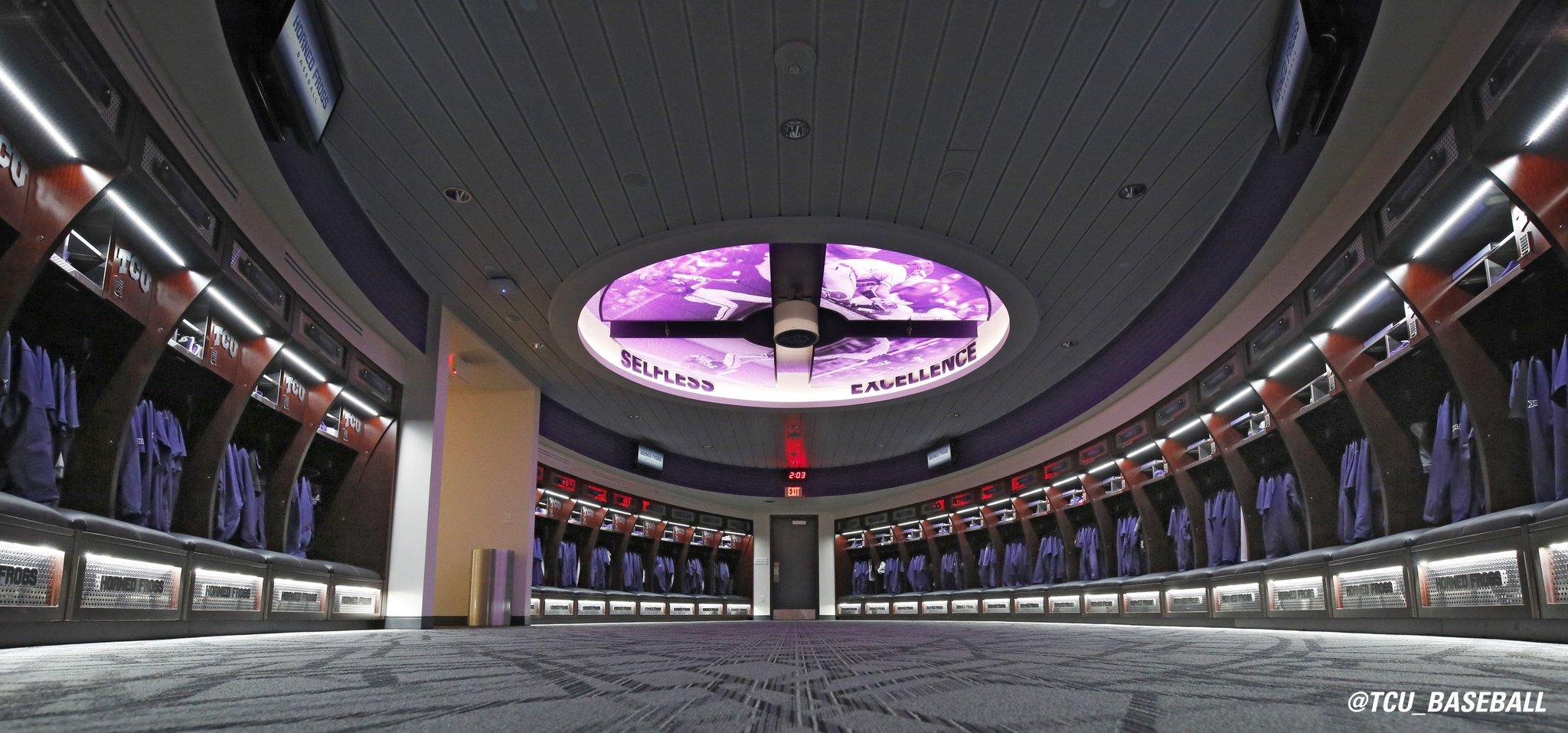 Tcu Baseball Locker Room