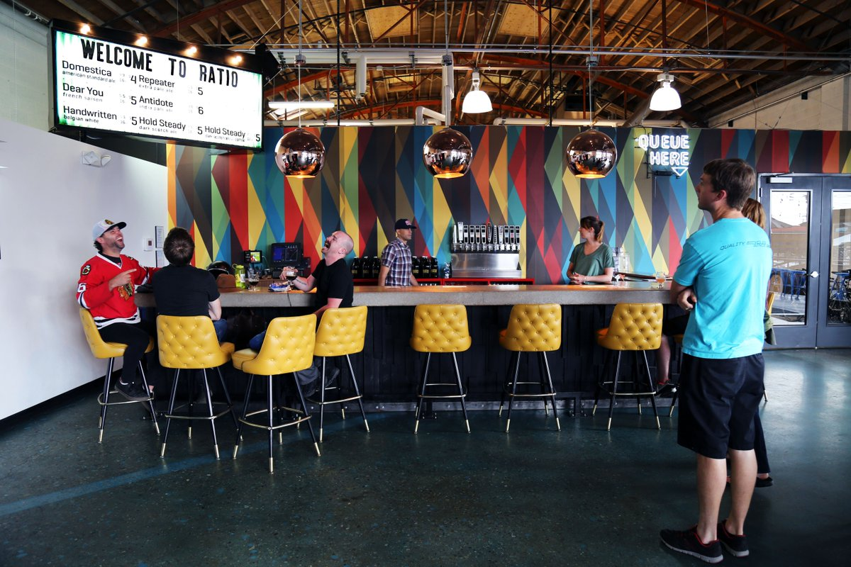 Everything about @RatioBeerworks is artsy. That's 1 reason why it's exploding in popularity