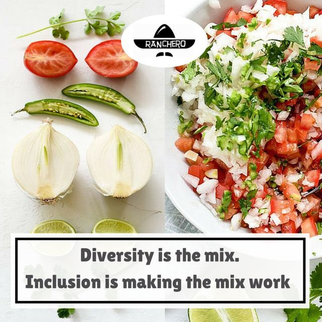 "Diversity And Inclusion Quotes Glamorous Ranchero On Twitter ""diversity Is The Mix Inclusion Is Making"