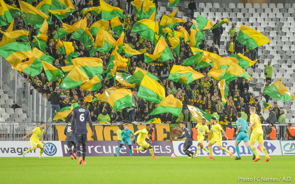 @itsultralife01 Nantes away at Bordeaux. French cup. #brigadeLoire #TribuneLoire <br>http://pic.twitter.com/thMHjaMOkw