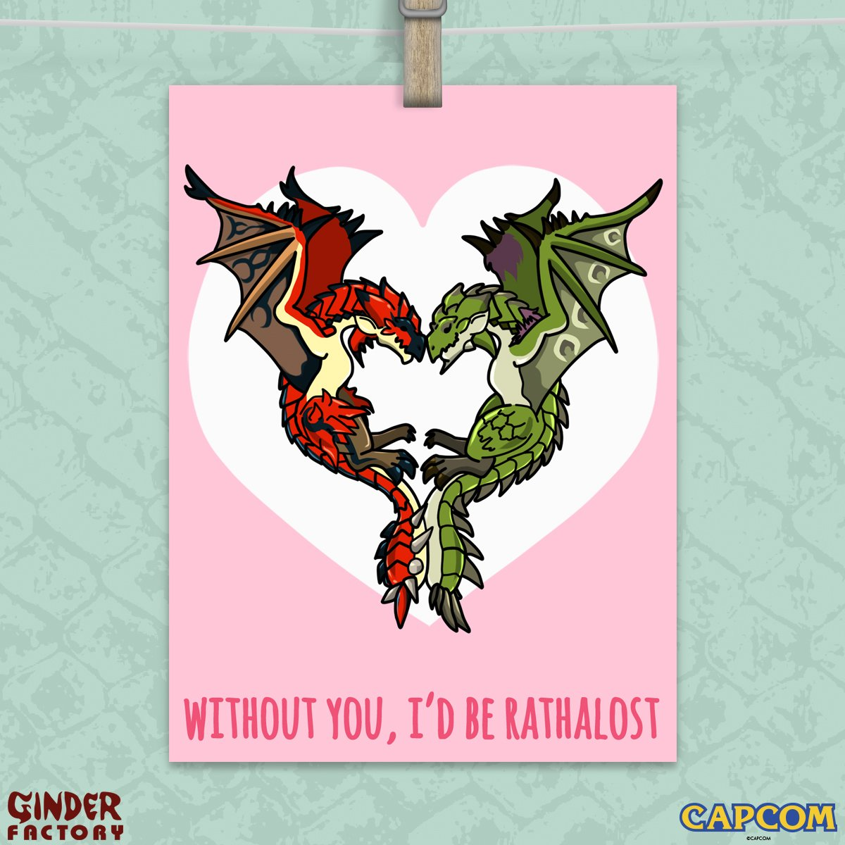 """monster hunter on twitter: """"this valentine's day, share the love, Ideas"""