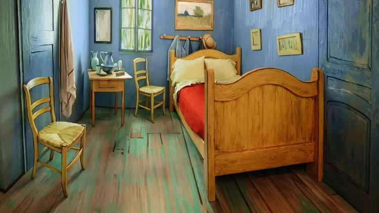 Van Gogh's bedroom is now on Airbnb, thanks to @artinstitutechi (via @TimeOutChicago)
