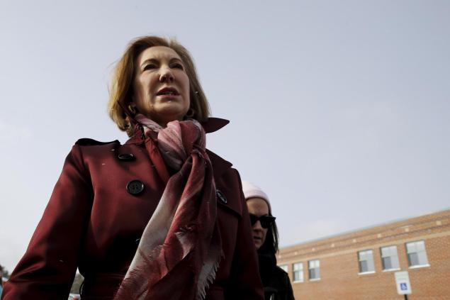 JUST IN: Carly Fiorina drops out of 2016 presidential race after a disappointing finish