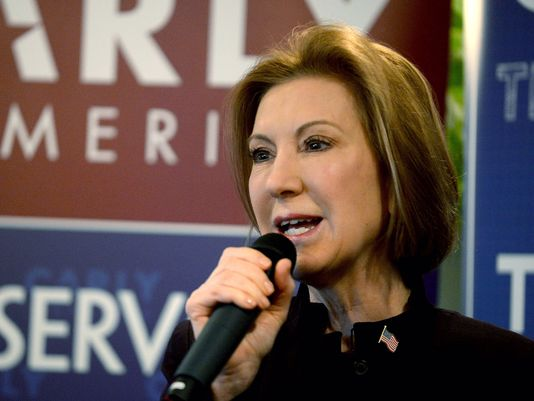 Carly Fiorina drops out of Republican presidential race.
