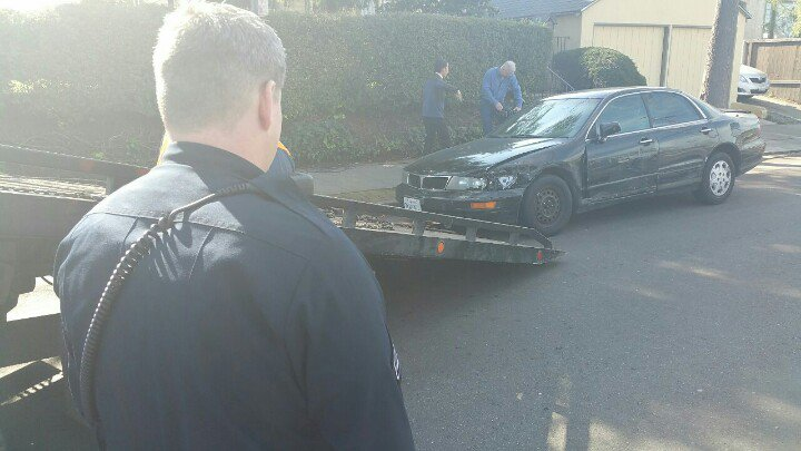 Oakland to Berkeley, police say man left a path of destruction w/his vehicle. 30+vehicles including police cars