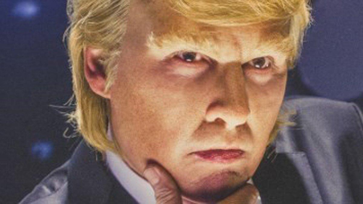 Human chameleon Johnny Depp, once Whitey Bulger, now transforms into Donald Trump