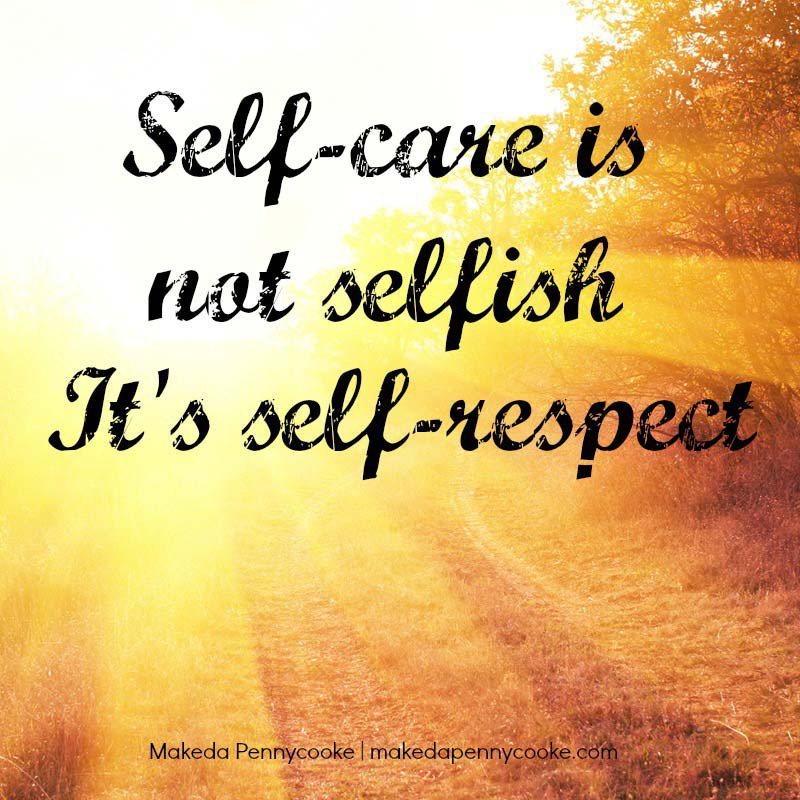 Angela Rose On Twitter I Love This Self Care Is Not Selfish
