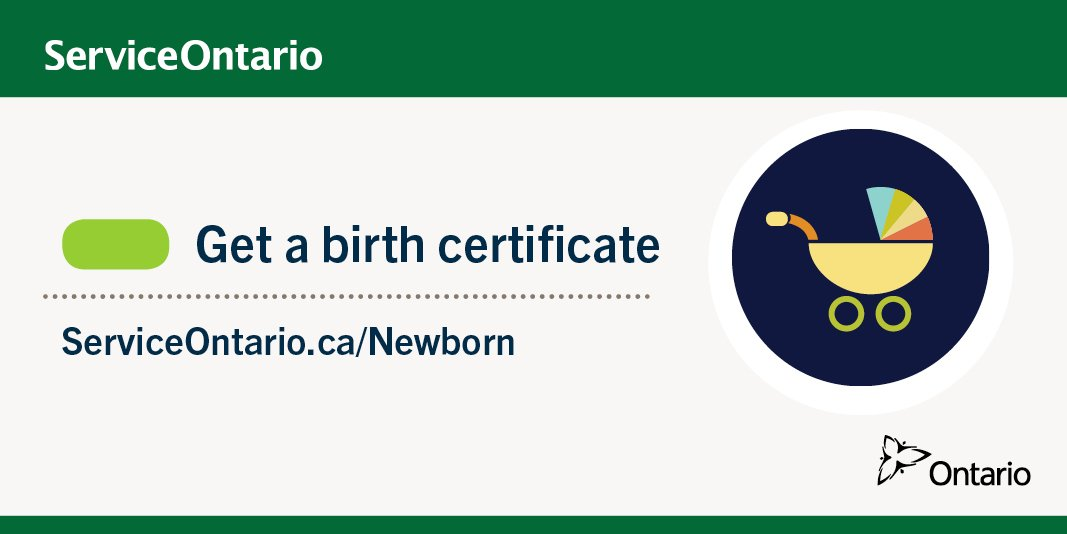 Lujoso Certificado De Nacimiento Ontario Estado Friso - Certificado ...
