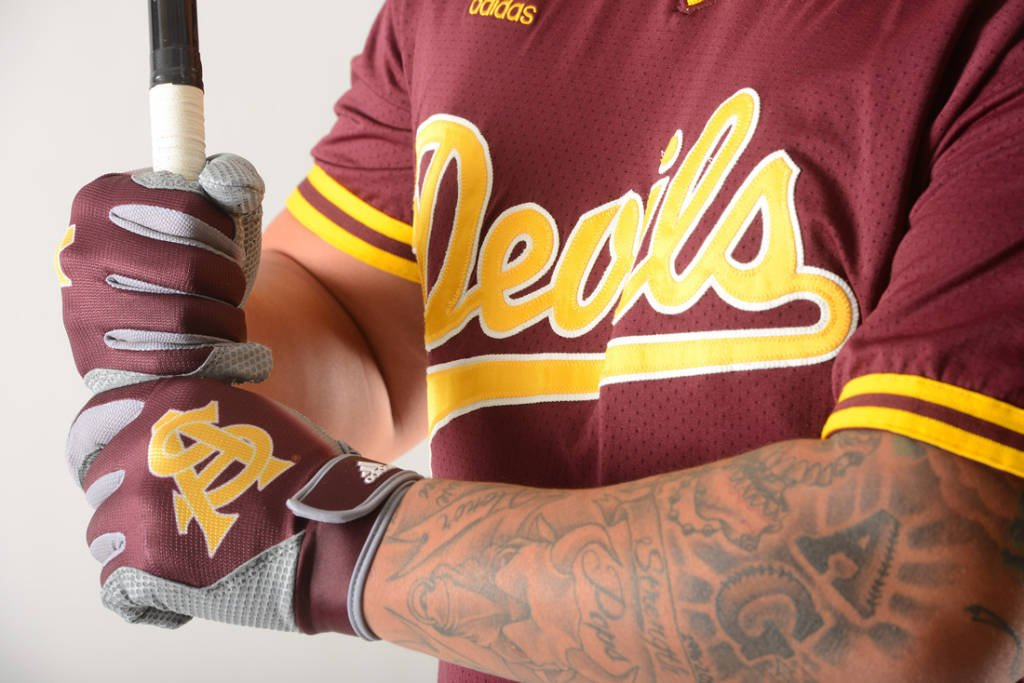 adidas: all day I dream about sparky.check out the new adidas unis for Sun Devil baseball12Sports