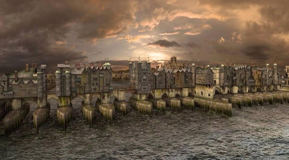 RT @DrLindseyFitz: Computer reconstruction of London Bridge during the 17th century. https://t.co/l3yH0rsLsd