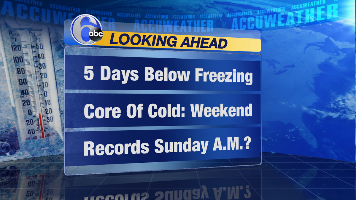 WINTER LOVERS TAKE NOTEThe next 5 days are what you have been waiting for---coldest air of the winter moving in.