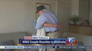 Couple separated during WWII reignites love story 72 years later