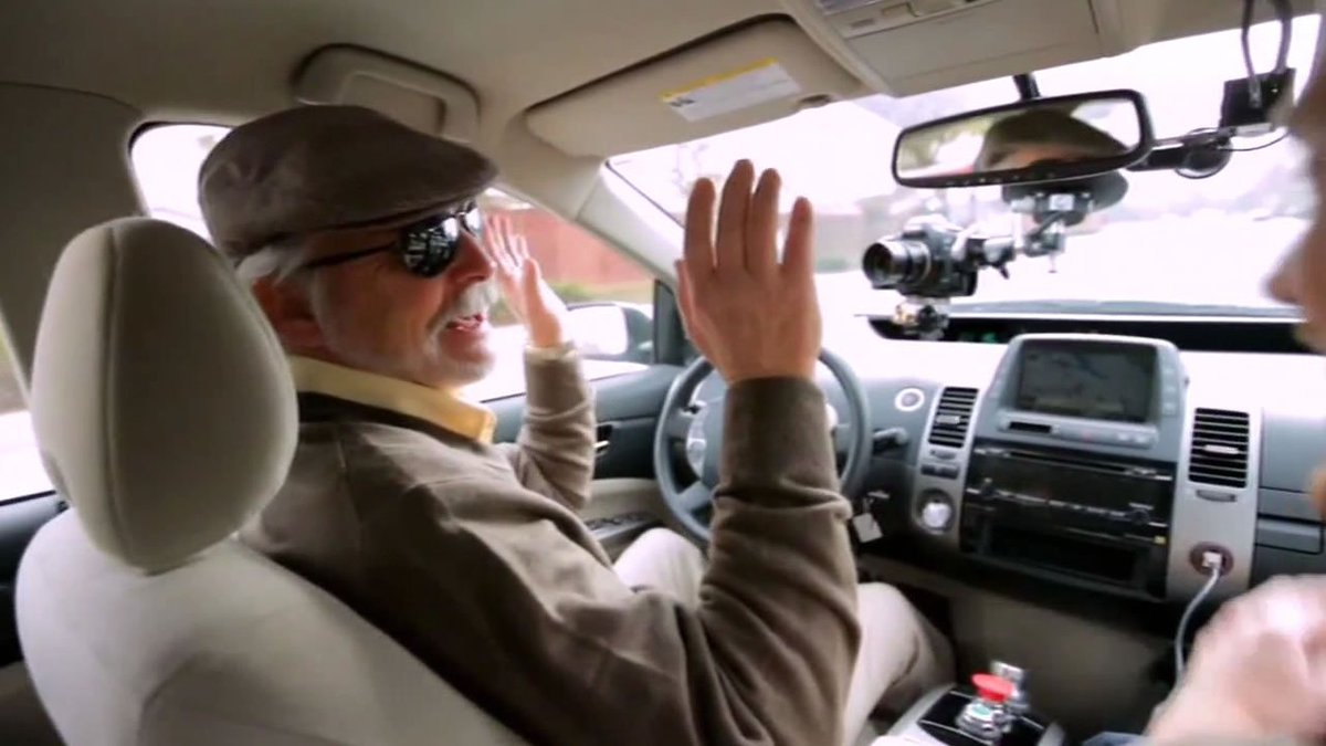 Man who is blind chosen as first person to test Google self-driving car.
