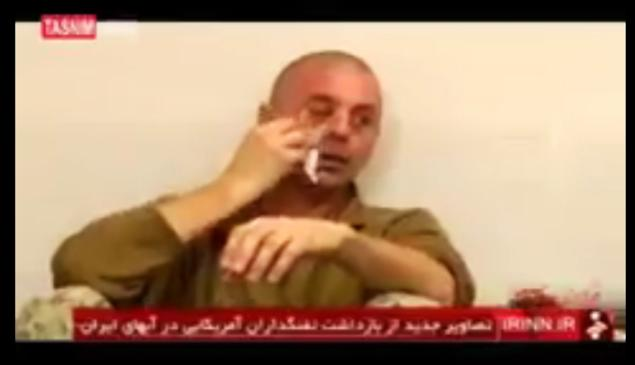 SEE IT: Iran has been airing footage of a captured American sailor crying on its TV