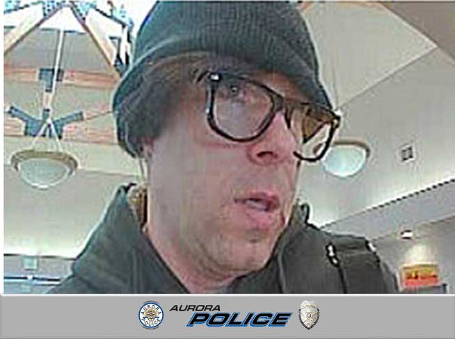 @AuroraPD release photos of bank robber, seek public's help: by @kierannicholson