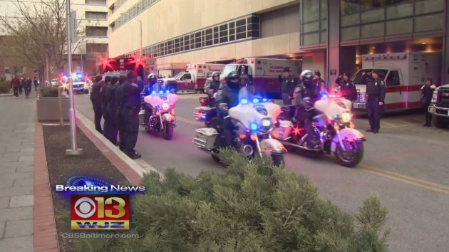 WJZ NOW: An outpouring of support. Dozens of law enforcement officers honor fallen deputies. @AvajoyeWJZ