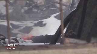 Burning warehouse site causes Highland Park health concerns reports @NewsDSpencerFox