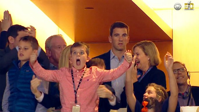 Eli Manning finally explains the reason behind his viral #SB50 expression: https://t.co/najyIPIR2A https://t.co/up1FCXk5zp