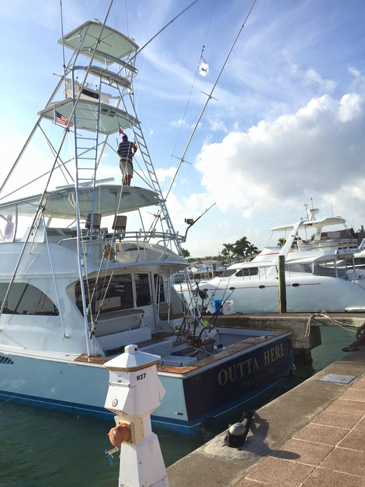 Casa de Campo, DR - Outta Here went 1-2 on Blue Marlin.