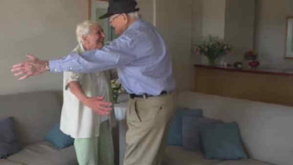 Couple separated during WWII re-ignites love story 72 years later