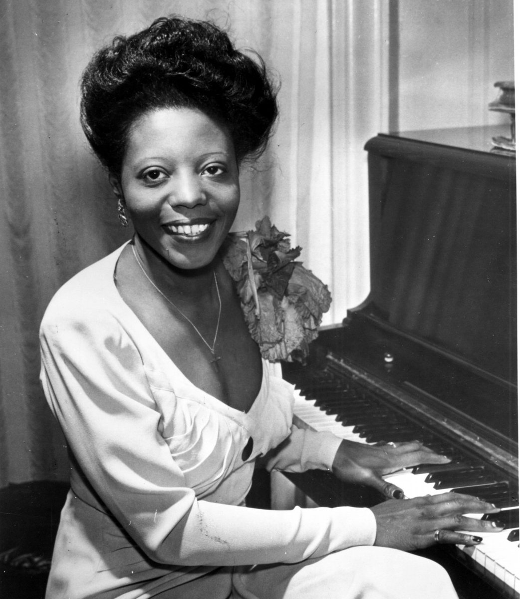#Jazz pianist and composer Mary Lou Williams mastered many types of music https://t.co/swF7JM3sdA https://t.co/3v9SPQ0lZk