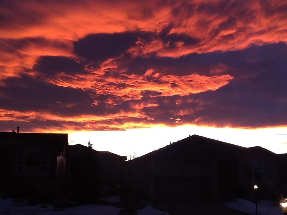Did you get to see tonight's beautiful sunset? YOURTAKE: