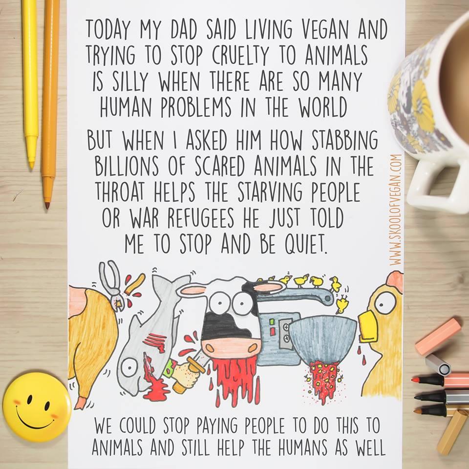 Thank you @SkoolofVegan #vegan #govegan https://t.co/P3XaGACb45
