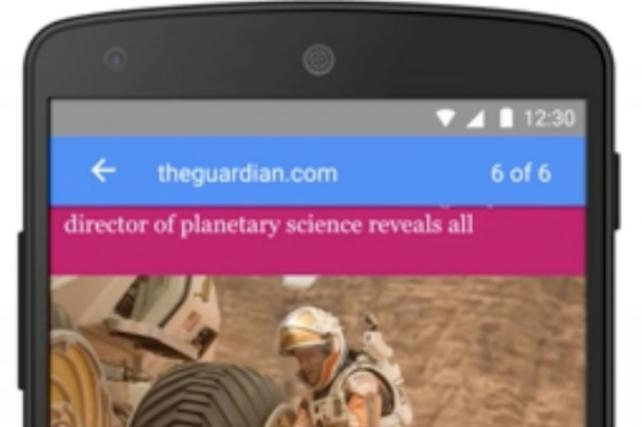 With accelerated mobile pages coming this month, Google aims to reinvent the mobile web https://t.co/17AJzmDfc0 https://t.co/YOHWfEq5RX