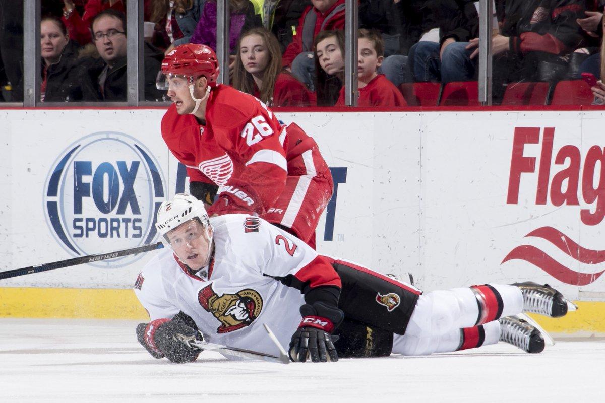 Final score: Red Wings 3, Senators 1