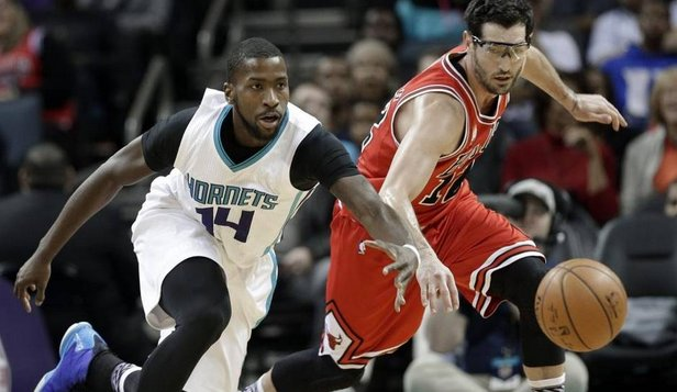 Michael Kidd-Gilchrist suffers a dislocated shoulder hornets charobs