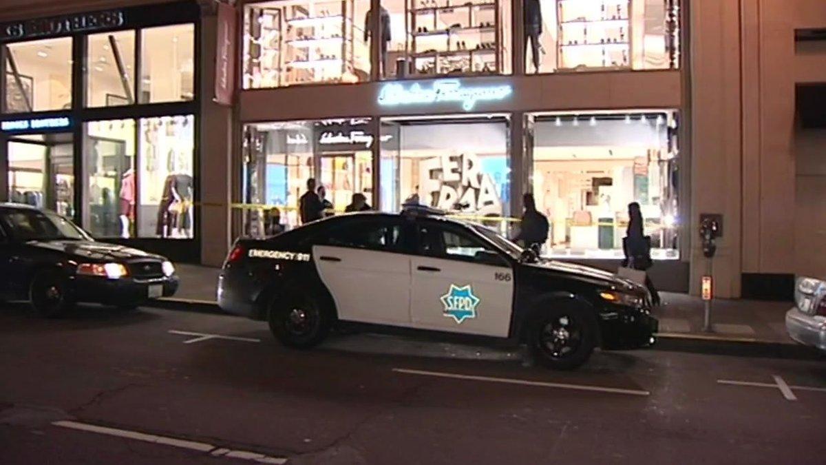 Brazen thieves allegedly steal $10,000 in goods from San Francisco's @Ferragamo.