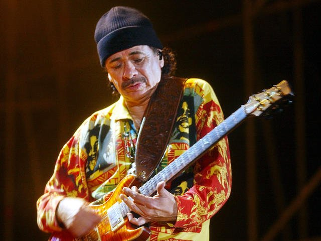 Carlos Santana slams NFL for not including local bands in halftime show