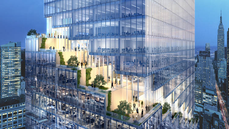 This 1,005-foot-tall spiral skyscraper is coming to the High Line