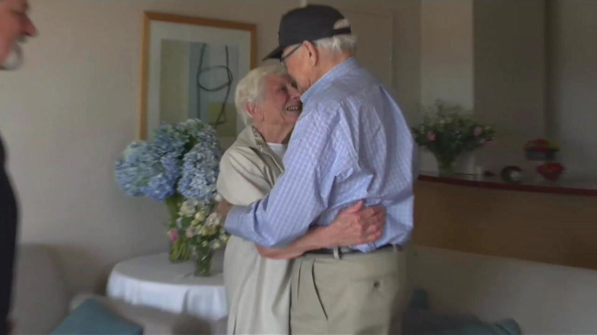 WWII vet reunited with wartime girlfriend after more than 70 years apart: abc13
