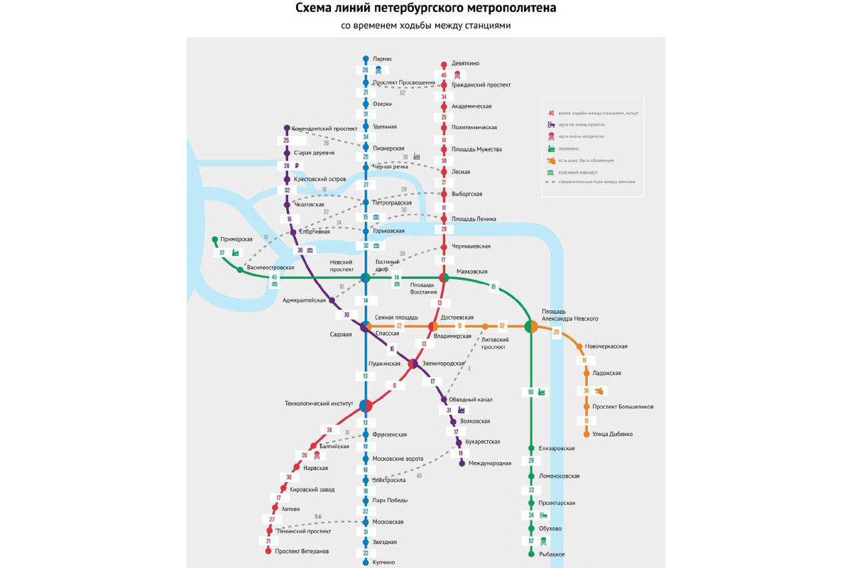 схема метро спб со строящимися станциями
