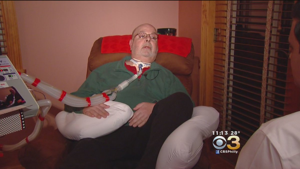 South Jersey Man Fighting ALS Thanks Strangers For Help. @DavidSpuntCBS3 reports |