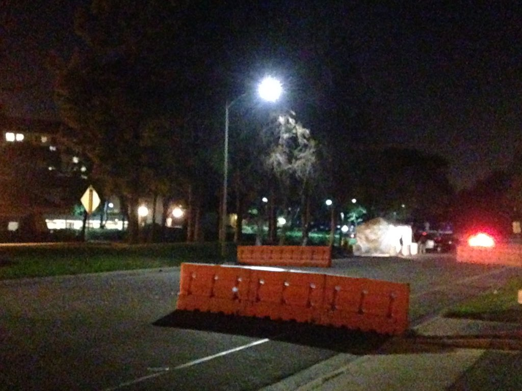 President is staying at Sheraton in my hometown of Milpitas tonight. Security tight on Barber Lane. ktvu