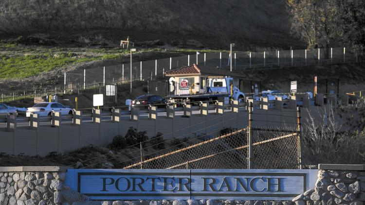 Porter Ranch-area gas leak may be stopped within days